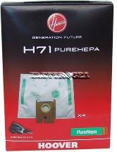 ELETTROGEA 35601069 Lot de 4 sacs Hoover H71 FREESPACE EVO