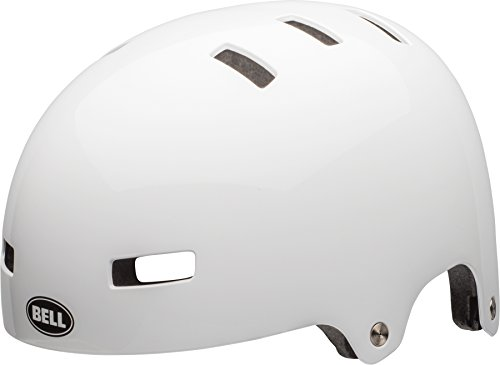 BELL Unisex Jugend Span Fahrradhelm, White, S