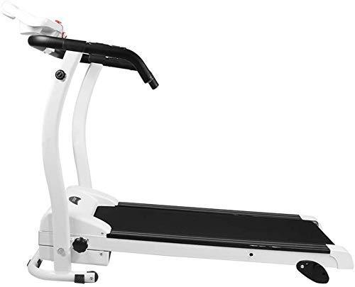 WK Laufband Kleine Flüsterleises Stoßdämpfung Mini Weight-Loss Folding Laufband Indoor Sportgerät Einfache Bedienung lili (Color : White, Size : 157x60x133cm)