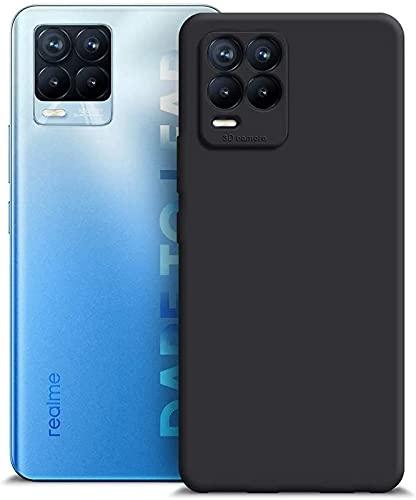 SmartLike Bumper Hybrid Edge to Edge Scratch Resistant Back Case Cover for Realme 8 Pro - Black
