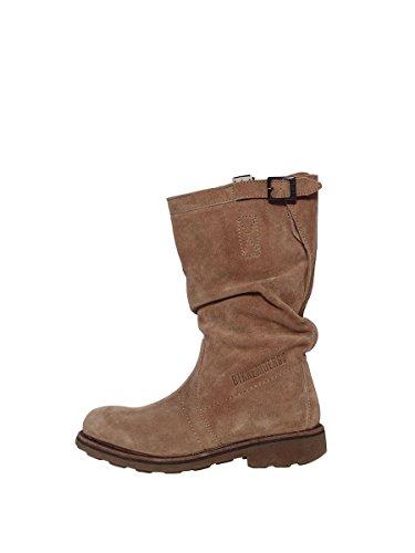 Bikkembergs stivale donna vintage 254 M.boot camoscio sand nr.36