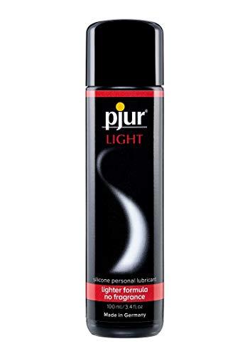 pjur LIGHT - Gleit- & Massagegel auf Silikonbasis - leichte Formulierung für extra lange Gleitfähigkeit und mehr Spaß beim Sex - 1er Pack (1 x 100ml)