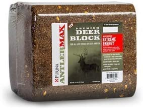 Purina AntlerMax Water Resistant Deer Feed Block Diet Enrichment for Antler Growth 33 Pound product image
