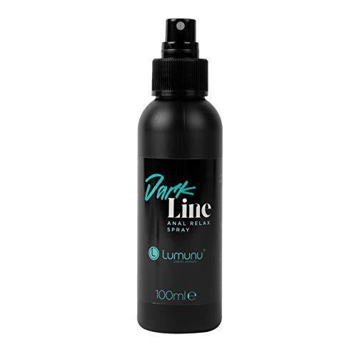 Deluxe DARK LINE Anal Relax Spray zur Vorbereitung auf entspannten Anal-Sex speziell für Männer (100ml)