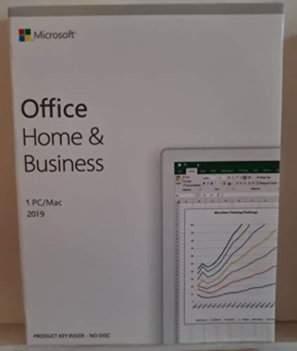 Office 2019 Home & Business Box - Sigillato - Contiene Key-Card di Licenza - Attivazione Online - Italiano