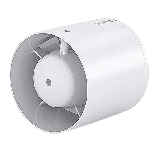 Starsmyy Rohrventilator 150Mm/15Cm Leise Druckbeaufschlagung Der Pipeline Abluftventilator Geeignet Für Büro Bad 19W Windgeschwindigkeit 260 M³ / H
