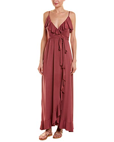 Rachel Pally Womens Lita Maxi Wrap Dress, S, Purple