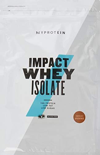 Myprotein Impact Whey Isolate Protein Powder, Chocolate Brownie