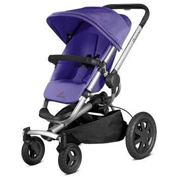 Quinny 79608310 - Buzz Xtra 4, Sportbuggy und Travelsystem, purple pace