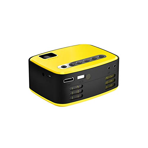 Beamer Projektor Elektrisch LED-Projektor T20 Mini Portable Home HD Kleines Theater 1080P Projektor Mini tragbare Tasche Heimkino-Projektor 3D HD 1080P LED Kino AV USB