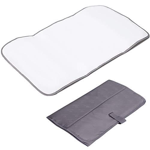 Lekebaby Foldable Travel Changing Mat Portable Baby Change Mat, Grey