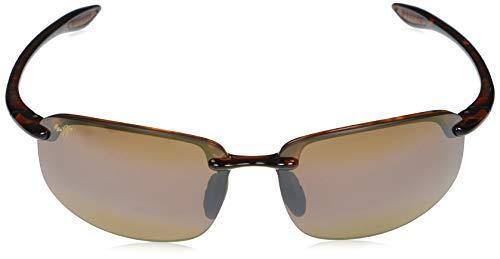 Maui Jim Ho'okipa Lesebrille Leserbrille Asien Fit rechteckig, Braun - Schildkröte / Hcl Bronze polarisiert - Größe: Medium