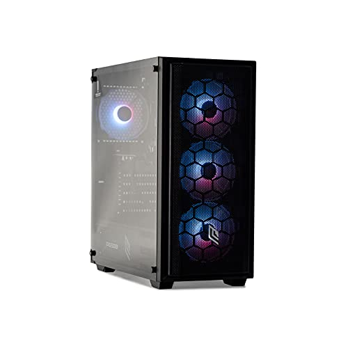 BREUNOR HERMES - Pc Gaming I7 11700,Rtx 2060 6Gb,Ram 16Gb 3000Mhz,Ssd Nvme 1000 GB,Pc desktop gaming assemblato con Windows 10