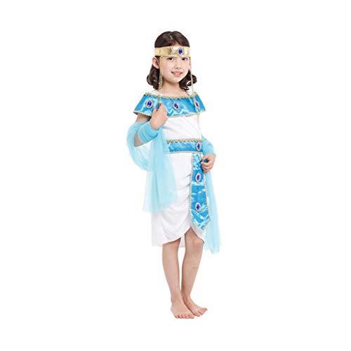 YIFEI2013-SHOP Halloween Witch Hat Traje del Funcionamiento de la Falda de la Mascarada de Ropa Blancanieves Cenicienta de Halloween de los niños Decoraciones estacionales (Color : D, Size : XL)