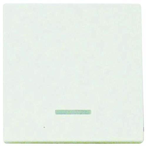 Meridian estándar interruptor/cúpula transparente de colour blanco