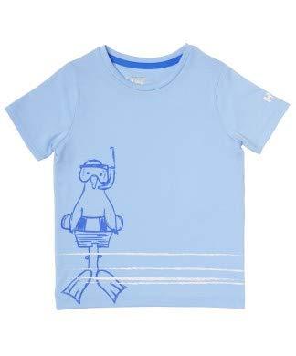 Helly Hansen Graphic Qd T-Shirt Mixte, Bleu, 1