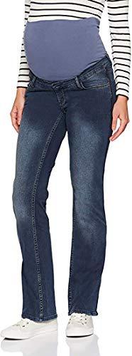 ESPRIT Maternity Damen Pants Denim OTB Bootcut Umstandsjeans (Blau (Medium Wash 960), W33/L32 (Herstellergröße: 42/34))
