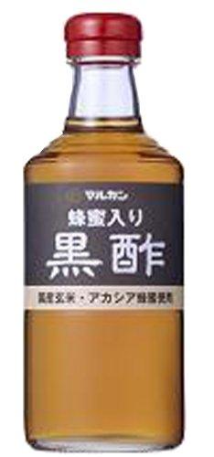 マルカン 蜂蜜入り黒酢 500ml 瓶