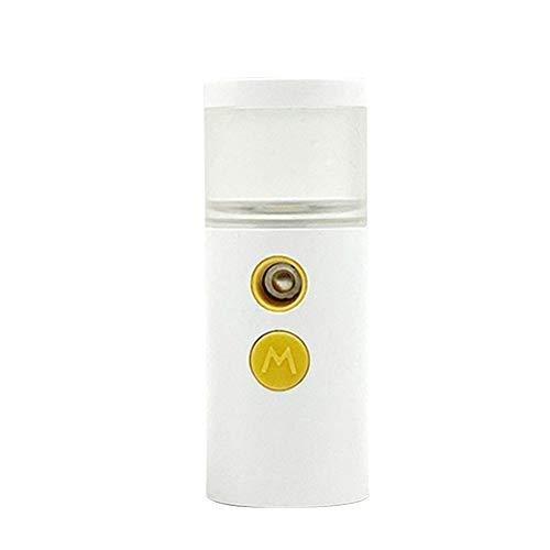 KANUBI Humidificador de belleza, humidificador silencioso, humidificador, crema hidratante, humidificador de belleza, carga USB, nano pulverizador portátil, spray para cara y manos