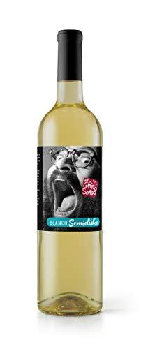 Vino EL GRITO SORDO Blanco Semidulce 75 cl. By Ignatius Farray. Producto Islas Canarias.