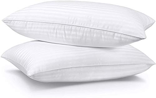 SUMITU Firm Bed Pillows for Sleeping 2 Pack Queen Size 20 x 30 Inches, Hypoallergenic Pillow for Side and Back Sleeper, Hotel Gel Pillows Set of 2, Down Alternative Cooling Pillow