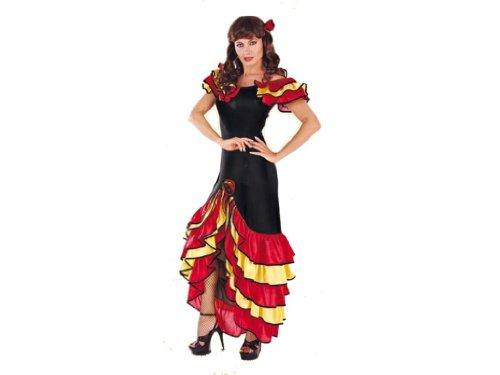 Rio - 151178/4446 - Costume - Adulte Femme Salsa - Taille 44/46