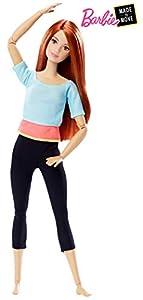 Barbie - Muñeca fashion movimientos sin límites - muñeca articulada - (Mattel DPP74)