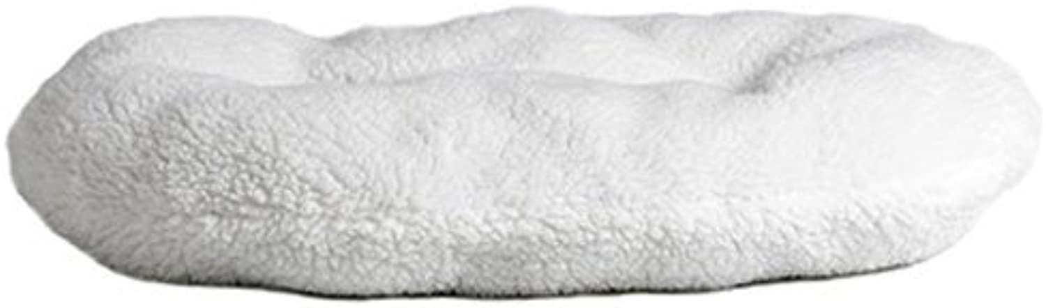 MidWest Quiet Time UDesign Large Sheepfleece Pet Bed Pillow 34 L x 23.5 W x 4 H