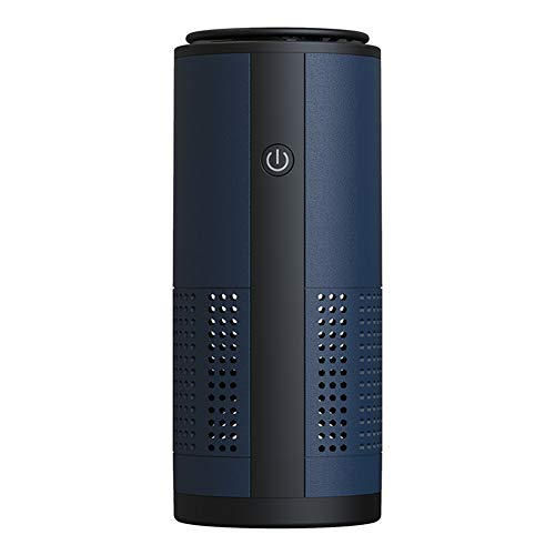 wang JESS Air Purifier for Home Allergies Pollen Pets Hair Smokers in Bedroom, U12 Negative Ion Air Filters,Sleep Mode,Low Noise Mini Portable Desktop USB Air Cleaner Home, Car, Office