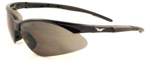 Global Vision UV400 Cricket-Brille, bruchsicher, inklusive Mikrofaser-Beutel