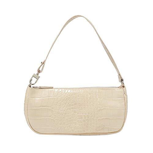 Bolso, bolso retro, con elegante estampado de cocodrilo,Bolsos Mujer, bolso bandolera, bolsos