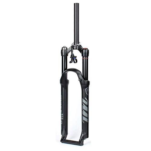 TYXTYX MXFK01 Bicicleta de montaña 26 27,5 29 Pulgadas Horquilla Delantera de Aire MTB Aleación de magnesio, Horquilla de suspensión de Ajuste de Rebote 9 mm QR