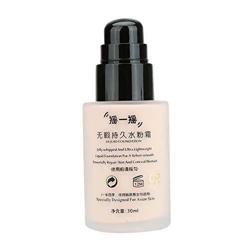 Fesjoy Crema del BB UBUB cara base líquida agitando maquillaje cosmético crema resistente al agua
