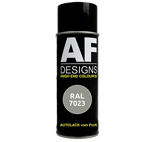 Alex Flittner Designs RAL Lackspray Autolack Sprühdose Spraydose RAL7023 BETONGRAU matt