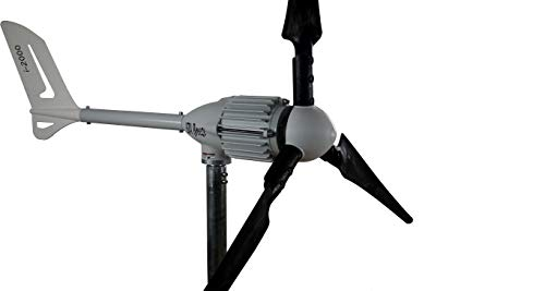Ista Breeze i-2000 48 V Wind Turbine Wind Generator from (48V, Black)