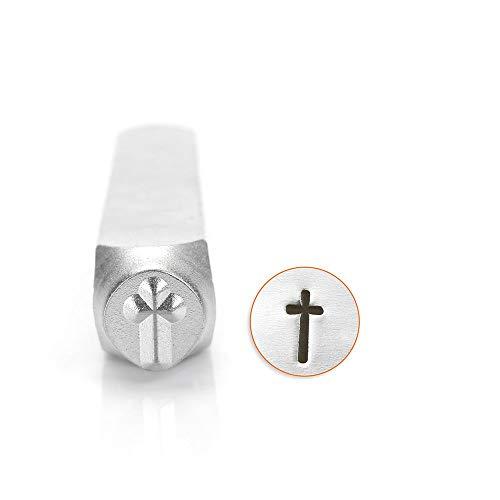 ImpressArt- 6mm, Cross Metal Stamp