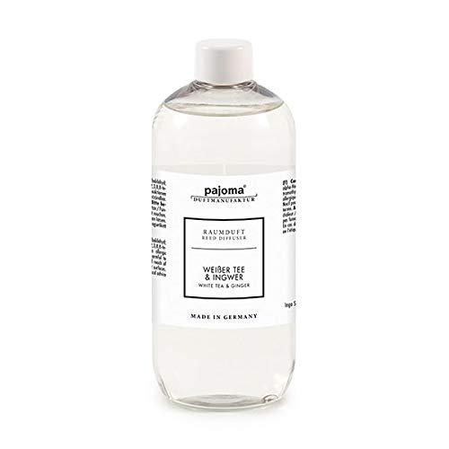 Raumduft Nachfüllflasche 500ml pajoma Duftöl für Diffuser Duft wählbar (Weißer Tee und Ingwer)