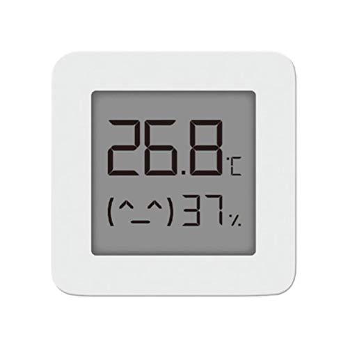 Wosiky Thermo-Hygrometer, Thermometer Hygrometer Digitales Sensor Thermometer Geeignet Raumthermometer für Babyraum, Wohnzimmer, Büro