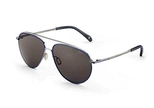 BMW zonnebril pilot roestvrij stalen montuur brillenbox