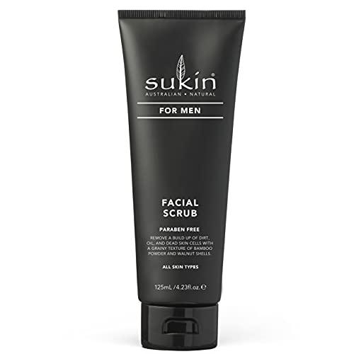 Sukin Men's Facial Scrub, 125 ml (885715)
