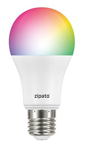 Zipato rgbw2. eu. B Lampadina 2, Z-Wave EU/B22, 9.5W, Multicolore