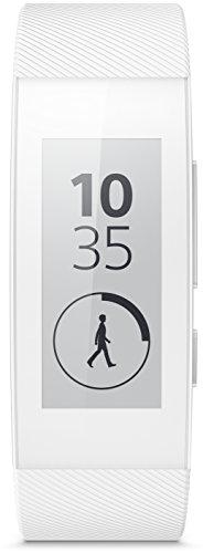 Sony Mobile SWR30 SmartBand Talk Fitness- und Aktivitätstracker Armband Kompatibel mit Android 4.4+ Smartphones - Weiß