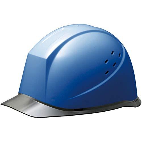 ミドリ安全 ヘルメット 作業用 PC製 クリアバイザー 通気孔付 ウインドフロー SC12PCLV RA3 UP ブルー/スモーク