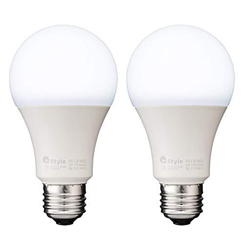 【+Style ORIGINAL】スマートLED電球 E26 (調光・調色) 2個セット 昼白色 電球色 LED電球 60W 810lm スマー...