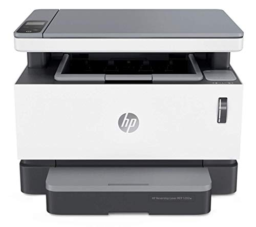 HP Neverstop All-in-One Laser Printer 1202w, Wireless Laser with Cartridge-Free Monochrome-Toner-Tank (5HG92A). Buy it now for 329.99