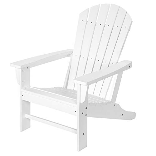 Adirondack Chair, Adirondack Chairs Weather Resistant, Outdoor Patio Chair, 350lbs Load Capacity, Fit with Lounge, Deck, Poolside, Backyard & Balcony