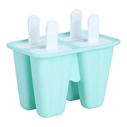 Molde para helados, helados, helados, helados, helados, contenedores de helados, moldes para helados, moldes para helados para niños (4 piezas)