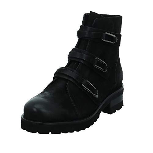 Tizian Damen Stiefeletten Boston 02 Boot T62902-VL10-100 schwarz 575658