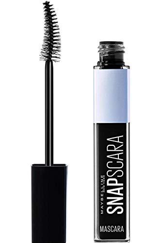 Maybelline New York Mascara für Volumen, Snapscara, Pitch Black, 9,5 ml