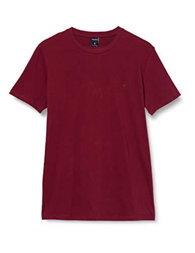 Springfield 5Ba Básica Logo Tree-c/69 Camiseta, Marrón (Maroon 69), M (Tamaño del Fabricante: M) para Hombre